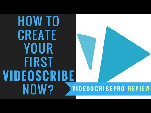 Videoscribe Pro Tutorials: How to Create Your First Videoscribe Now with Videoscribe 3 0 3