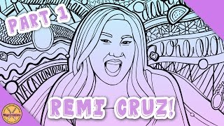 ✎ COLOURING WITH REMI CRUZ! || Part 1: The Outline ✎ (Megs Creations)