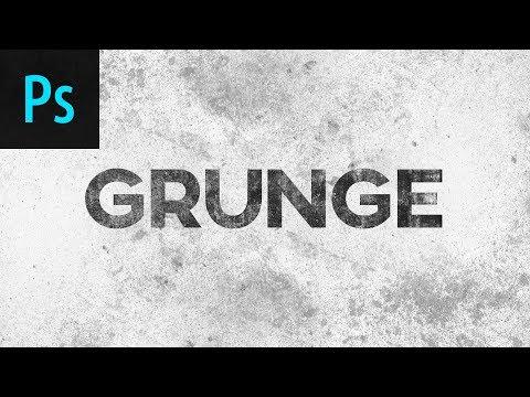 Grunge Effect Photoshop Tutorial