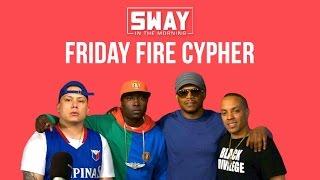 Friday Fire Cypher: Noah-O & Napoleon Da Legend Freestyle Over Black Saun Beats