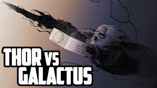 THOR VS GALACTUS | COMIC NARRADO - HISTORIA COMPLETA