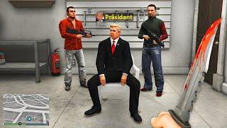 Ich RETTE den PRÄSIDENT in GTA 5 RP!