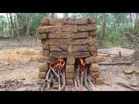 Primitive Technology: Furnace and Mud Bricks