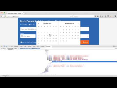 How To Handle calendar dynamically in selenium