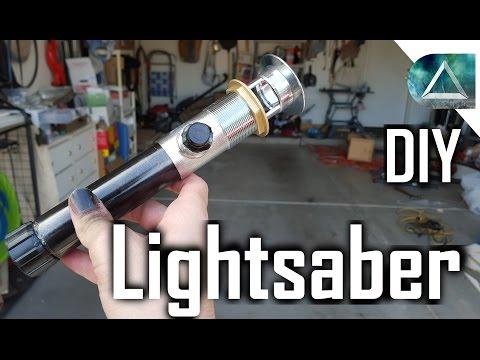 DIY Lightsaber Tutorial for $10