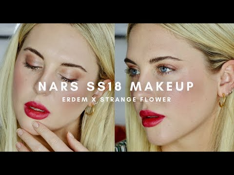 NARS FRESH SUMMER MAKEUP FT. ERDEM STRANGE FLOWERS || STYLE LOBSTER