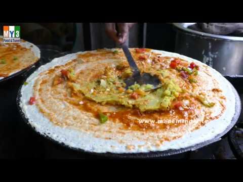 Cheese Masala Dosa Recipe | Flavors of Mumbai | How to make Cheese Dosa