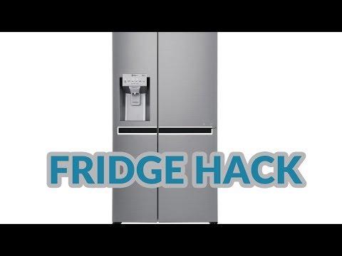 Fridge Fix eliminate odour from fridge fan LG gsl961pzbv American large ice dispenser