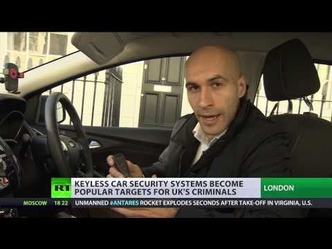 Keyless Job: High tech security systems easy target for UK criminals