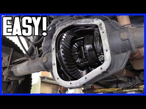 How to Replace the Rear Differential Fluid Ford F-150 2004-2008 | Bolt Sizes Inculded