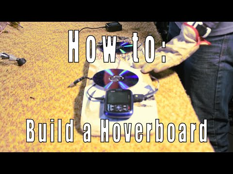How to Build a Hoverboard w/ Mason Medina