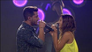 ישראל X Factor - עונה 2 פרק 20- שלב ה-LIVE: הביצוע של עידו ועטרה