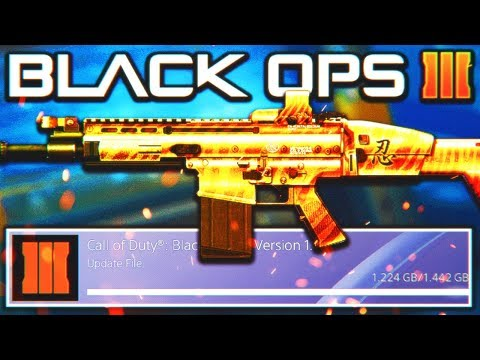 *NEW* BLACK OPS 3 UPDATE 1.29 LIVE NOW! - NEW DLC WEAPONS, CAMOS, CONTRACTS AND MORE! (BO3)