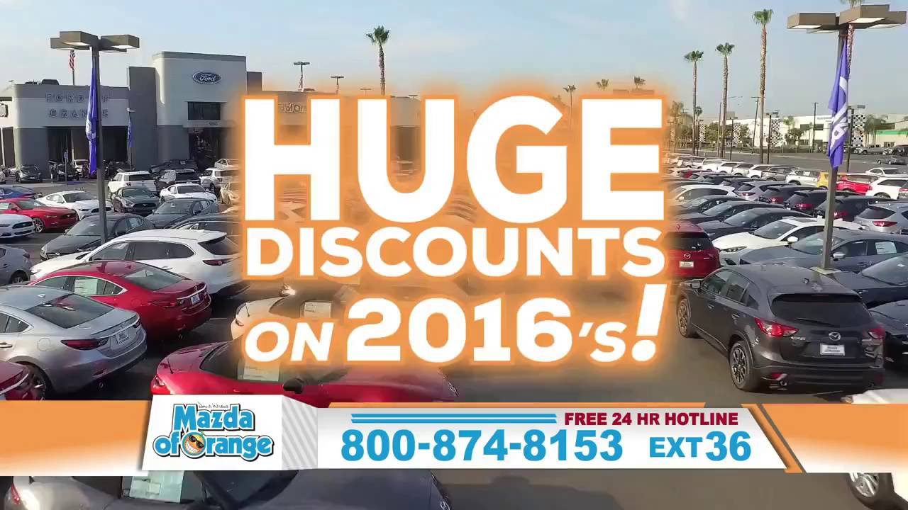 You always get a little more at Mazda of Orange - Orange County Mazda Dealership