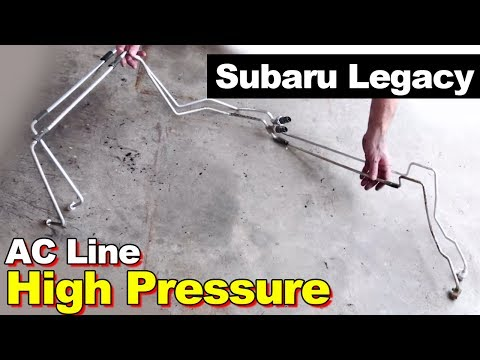 2005 Subaru Legacy High Pressure AC Line Leak