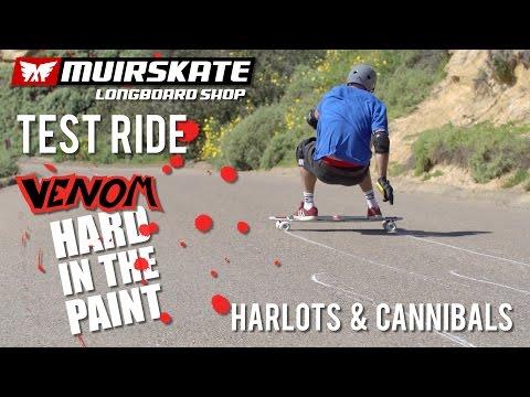 Test Ride Venom Hard in the Paint Wheels | MuirSkate Longboard Shop