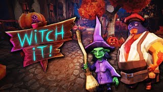 Hot Chickens & LIT Hiding Spots! (Witch It - Magical Prop Hunt)