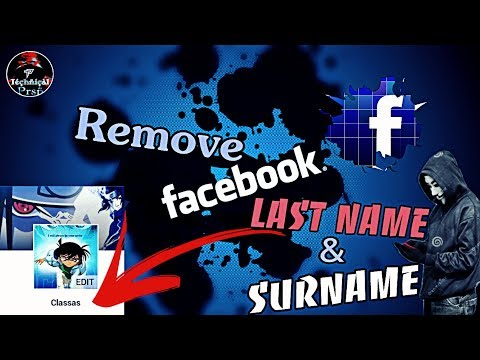 How To Remove Your FB Last Name & Surname || Latest Trick From FB