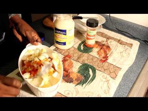 HOW TO MAKE REAL JAMAICAN POTATO SALAD recipe 2014