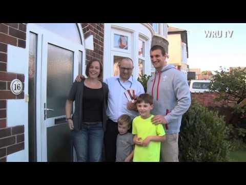 Sam Warburton delivers tickets to fans | WRU TV