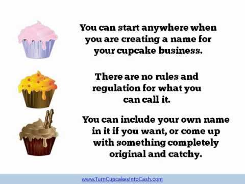 How to Choose Your Cupcake Business Name