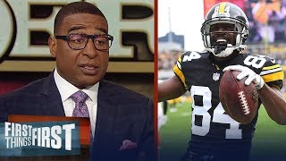 Cris and Nick discuss landing spots for Antonio Brown next season | NFL | FIRST THINGS FIRST