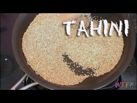 What is and how to make Tahini?