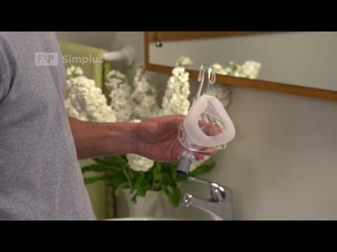 How to reassemble after washing Fisher Paykel Simplus Cpap Mask