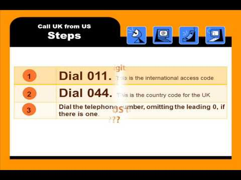 How To Call UK from US or Canada - Step By Step Explained with Pictures