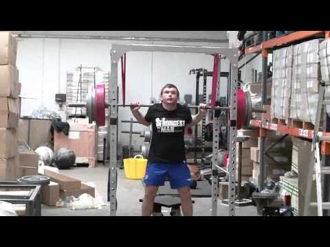 StrengthShop Basic Rack, Plyo Box and Log