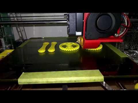 Tronxy P802M Test Print