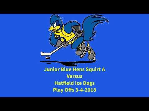 Ice Hockey - Blue Hens Playoff Game vs Hatfield 3-4-2018