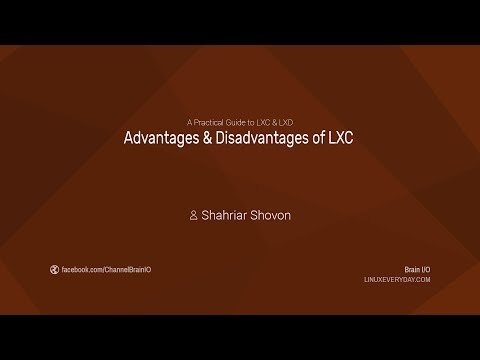 02. Advantages & Disadvantages of LXC