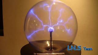 Download Giant Plasma Ball in Lisbon Video