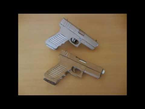 How to make my cardboard Glock 18
