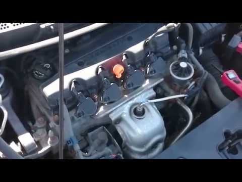 2007 Honda Civic A/C diagnostic and clutch replacment
