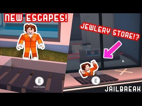 5 *NEW* WAYS TO ESCAPE JAILBREAK 🚗🚓 | Roblox Jailbreak