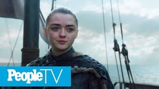 'History Of Westeros' Podcast Hosts On What Arya Will Find West Of Westeros | PeopleTV