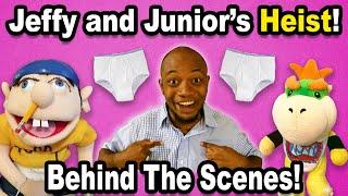 SML BTS: Junior and Jeffy's BIG Heist! pt. 1