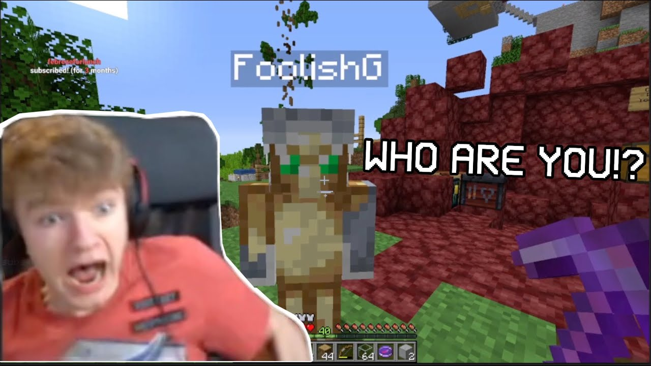 Tommyinnit Meets NEW Member of Dream SMP FoolishG