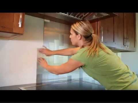 DiY Aspect Backsplash Tile Installation