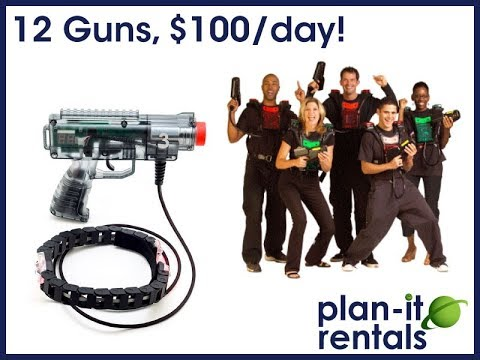 Plan-it Rentals Laser Tag Instructional Video