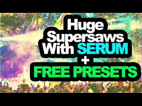 Learn How to Make HUGE EDM SYNTHS With Xfer Serum