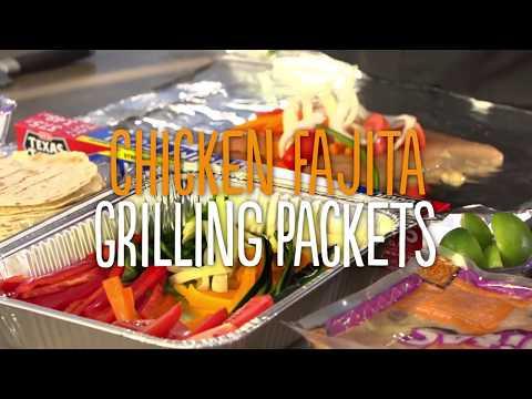 Chicken Fajita Grilling Packets