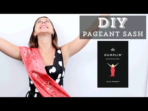DIY: How to Make a Beauty Queen Pageant Sash Inspired by Dumplin'