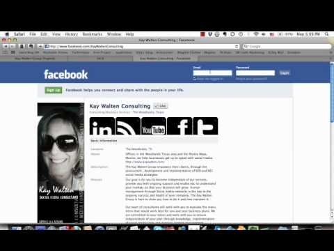 How to set up your default landing page on facebook.mp4