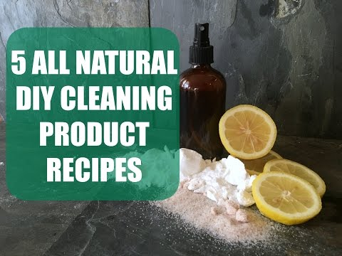 All Natural Household Cleaning Products | 5 Pet/Child Safe Recipes