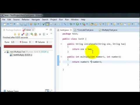 JUnit Testing in Eclipse