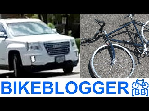 I GOT HIT BY A CAR TODAY BICYCLE COMMUTING Bike Blogger