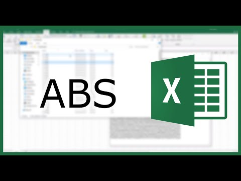 Excel ABS Function: Return the Absolute Value | Excel in Minutes